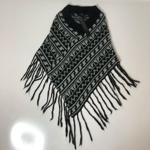 Heart n Crush Aztec Thick Cozy Knit Fringe…